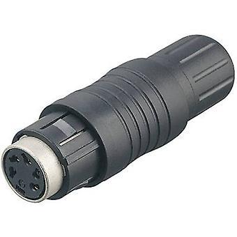 Bağlayıcı 99-4830-00-08-1 Serisi 440 Minyatür Dairesel Konnektör Nominal akım (ayrıntılar): 5 A Pin sayısı: 8 DIN