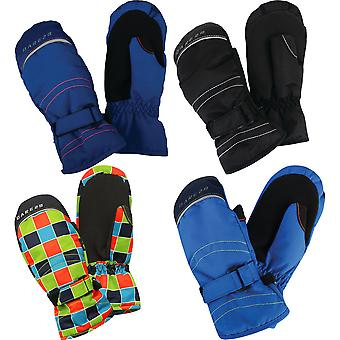 あえて 2 b 男の子ハンドオーバ ポリエステル暖かいミット スキー手袋