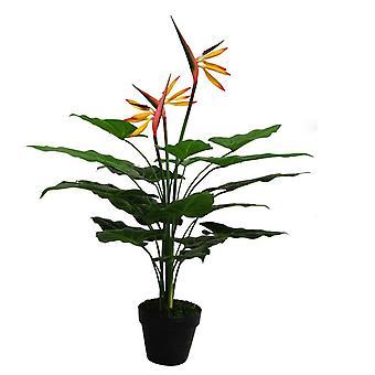 70cm künstliche Paradiesvogelblume Pflanze (Strelitzia) - große