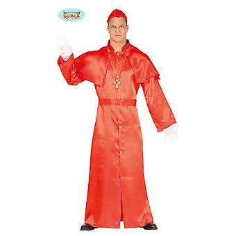 Cardinal Holy Carnival Carnival costume for men's Church Bishop priest