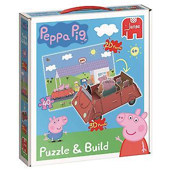 Peppa Pig Peppa Pig puslespil og bygge