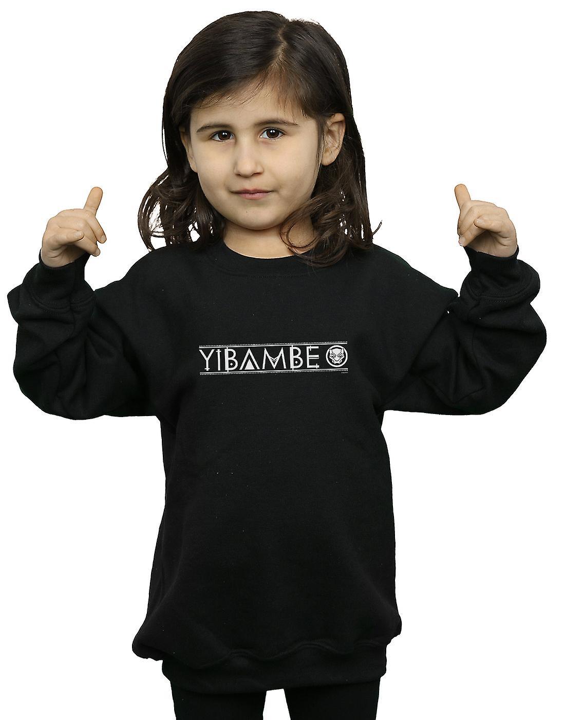 Marvel Girls Avengers Infinity War Black Panther Yibambe Sweatshirt