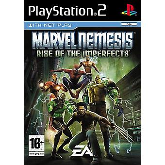 Marvel Nemesis Rise of the Imperfects (PS2) - Ny fabrik förseglad