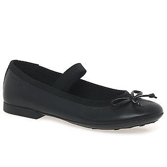 Chaussures Geox Plie Junior école de filles