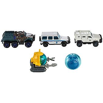 Match Box FMX40Jurassic World Die Cast Pack of 5Assorted