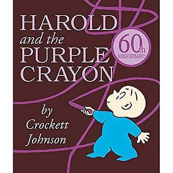 Harold och lila krita styrelsen boken