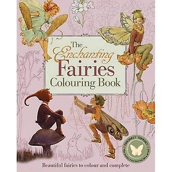De betoverende feeën kleur boek (kleurstoffen Books)