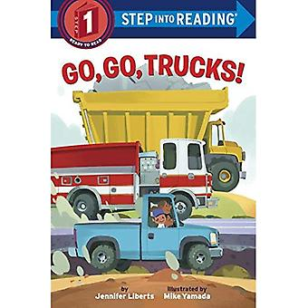 Go, Go, Trucks! (Step Into� Reading)