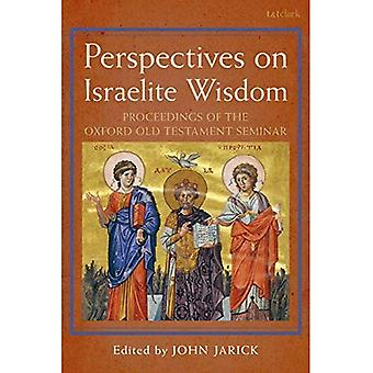 Perspectives on Israelite Wisdom: Proceedings of the Oxford Old Testament Seminar (The Library of Hebrew Bible/Old Testament Studies)