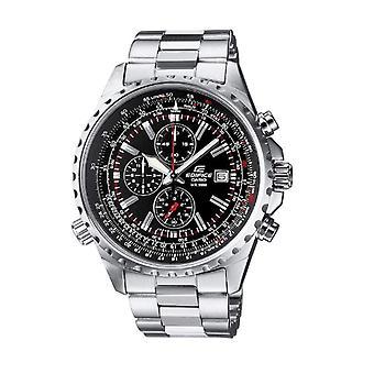 CASIO watch chronograph kvartsi miesten ruostumaton teräs hihna EF-527D-1av