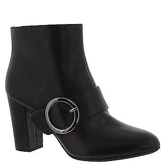 أحذية أزياء العجل منتصف إصبع اللوز جلدية نوفو النسائي أن كلاين