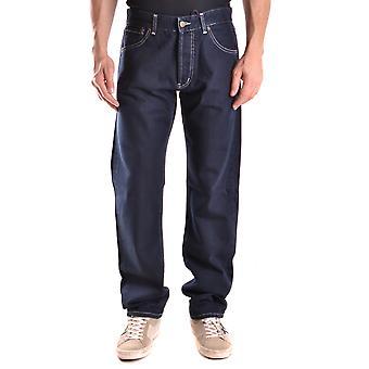 Ballantyne Ezbc099020 Men's Blue Cotton Jeans