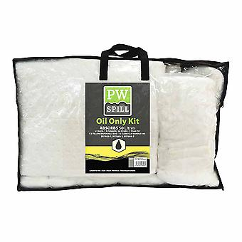 Portwest - 50 liter olja bara Kit vit Regular