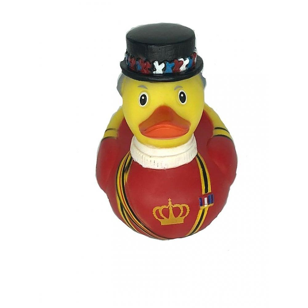 Union Jack Wear Beefeater Rubber Duck - Detailed