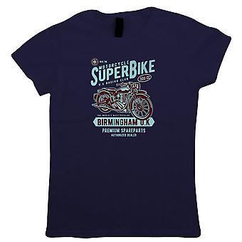 Super bicicleta para mujer camiseta | Moto Scooter Street Cafe Racer jinete Sidecar | Coche Rider rápido vuelta récord Campeonato del conductor de bicicletas | Motos regalo de su madre