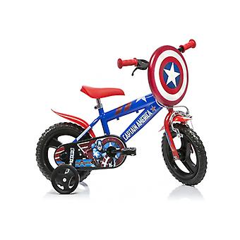 DINO Bikes Captain America 12inch Bicycle