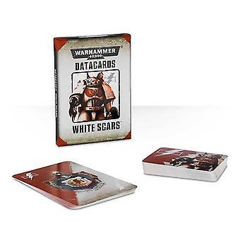 Taller de Juegos - Warhammer 40,000 - Tarjetas de datos: Cicatrices Blancas