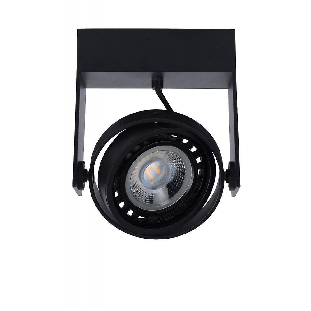Lucide Griffon Modern Rectangle Aluminum White Ceiling Spot Light