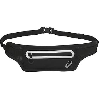 Asics Running Training Exercise Fitness Waist Pouch Bag Black