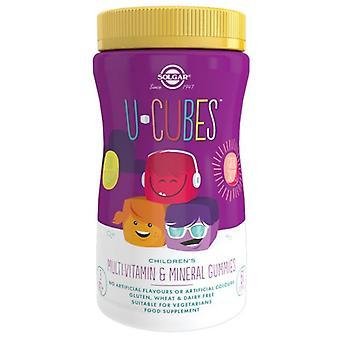 Solgar U-Cubes Children's Multi-Vitamin and Mineral Gummies 60 (52550)