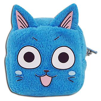 Coin Purse - Fairy Tail - Happy Cube Face New ge20540