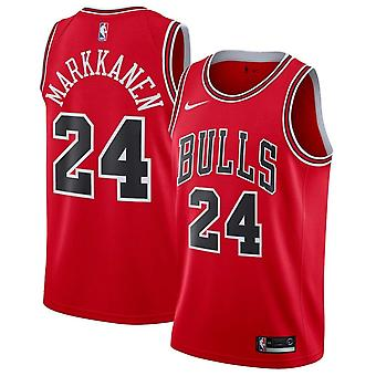 Nike НБА Чикаго Буллз Лаури Маркканен Свингман Джерси - Icon Edition