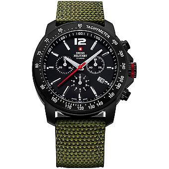 Swiss Military Quartz Analog Man Watch with Nylon Bracelet SM34033.07