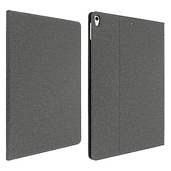 IPad Air 2019 and iPad Pro 10.5 Stand Folio Case, Heathered Texture- Grey
