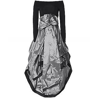 Xenia Design Tiered Taffeta Geram7 Dress