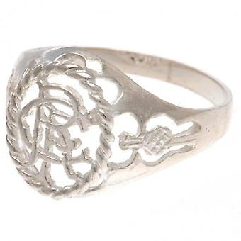 Rangers FC Sterling Silver Ring