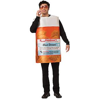 Bottle Blue Dream Adult Costume