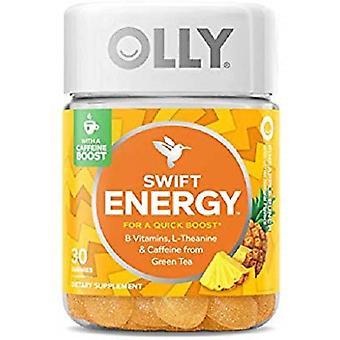 Olly Swift Energy Vitamin Gummies - Pineapple Punch