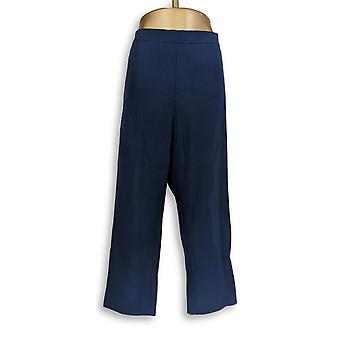 Isaac Mizrahi Live! Vrouwen ' s plus broek 24/7 stretch gewas blauw A351754