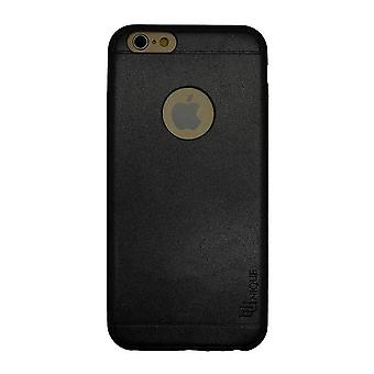 iPhone 6/6s - 4.7 Inch Second Skin Black - Soft PU Leather