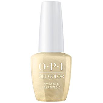 OPI GelColor Love OPI XOXO 2017 Soak Off Gel Polish Collection - Gift Of Gold Never Gets Old 15ml (HP J12)