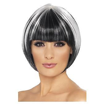 Womens egendomliga Bob peruk maskeraddräkter tillbehör