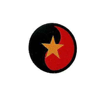 Patch ecusson ricamo termobastone aviazione aviazione bandiera angola