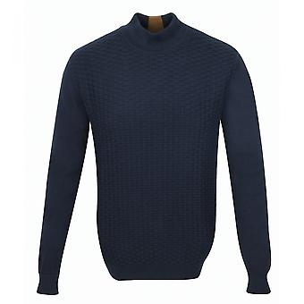 Guide London Mens Brick Patterned Sweater