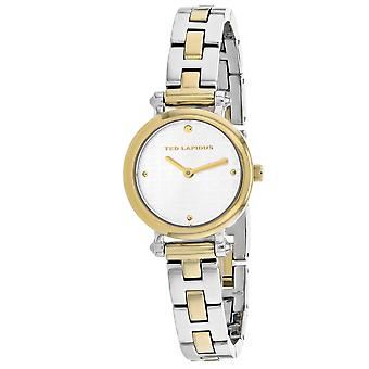 Ted Lapidus Women's Classic Silver / Gold Dial Watch - A0680BBPX