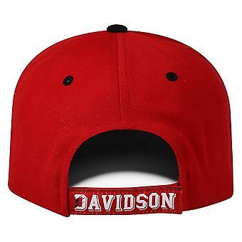 Davidson Wildcats NCAA TOW Triple Threat Adjustable Hat