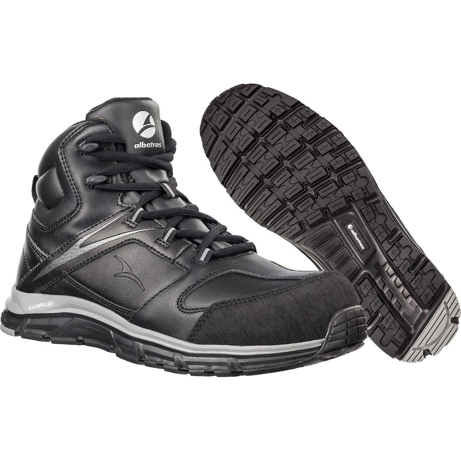 Albatros Mens Vigor Impulse Mid Safety Boots