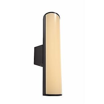 LED utvändig vägglampa råtta 30 antracit 300mm 3000K 7 W
