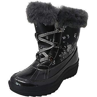 Anne Klein Women's Gayla 3 Mid-Calf Fabric Snow Boot