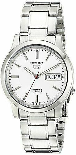 Seiko 5 Automatic White Dial Stainless Steel Men's Watch SNK789K1