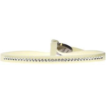 Bracciale intercambiabile A17640 - cristalli di tessuto Beige donna Swarovski bracciale