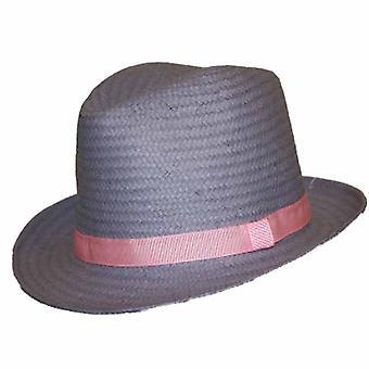 Nieuwe dames Heather stro stijl Trilby zon zomer hoed