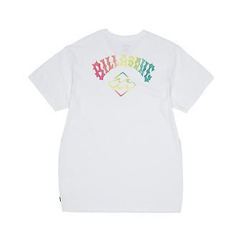 Billabong bunker kortärmad T-shirt i vitt