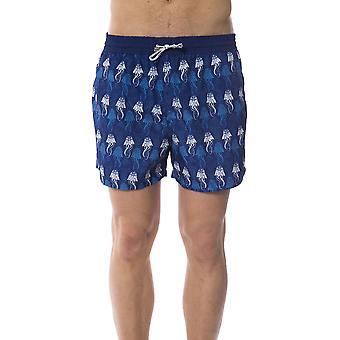Blue Men's Bagutta Swim Shorts