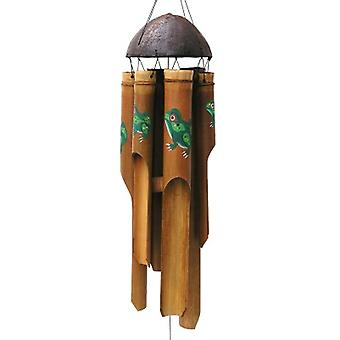 Sm Antique Frog Simple Wind Chime
