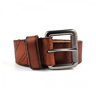Superdry AOP Lineman Belt In A Tin Tan Casual Leather Belt 20O
